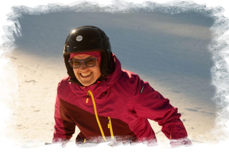 Ski gleichnisse abfahrt
