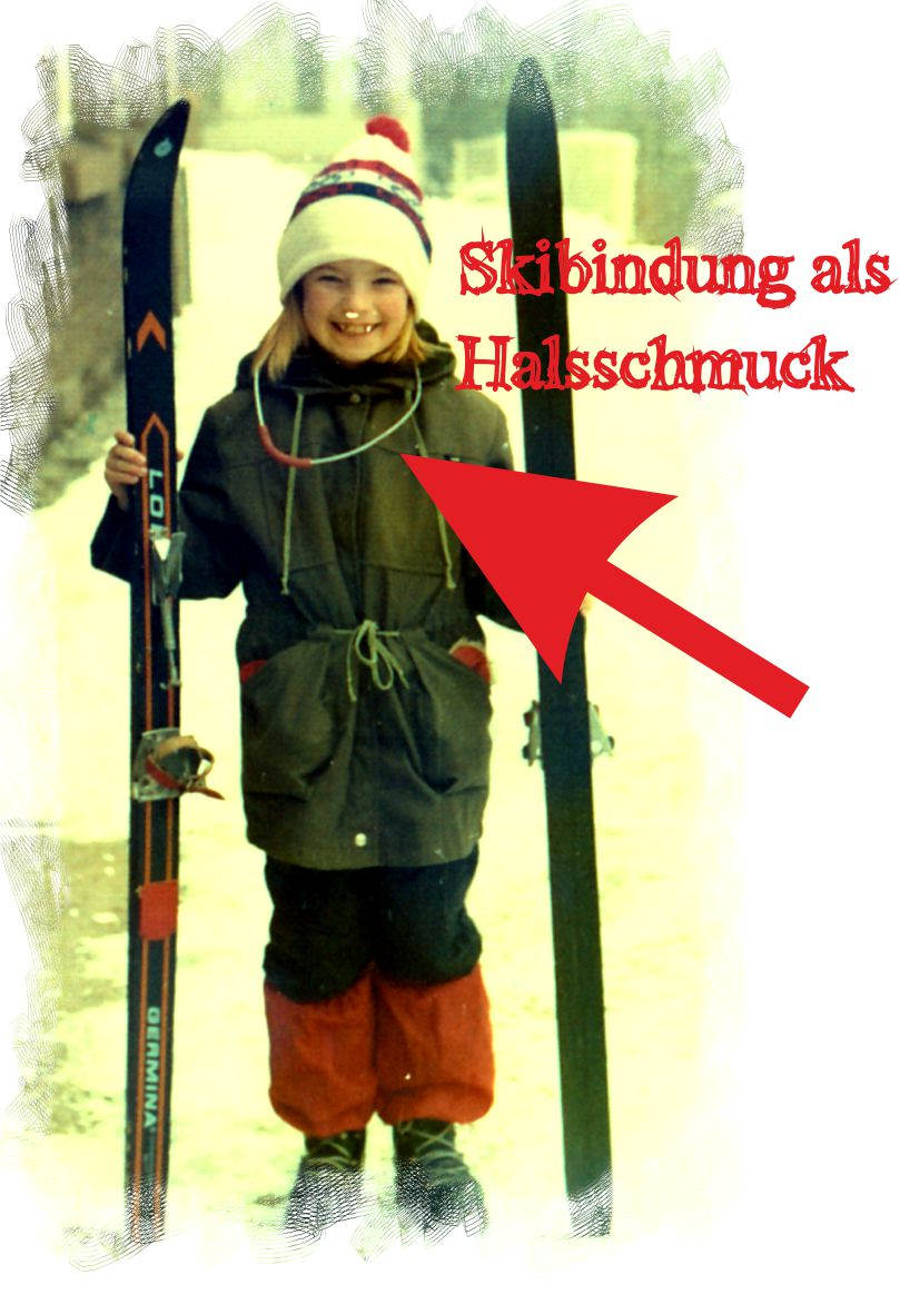 Gleichnisse ski Halsschmuck
