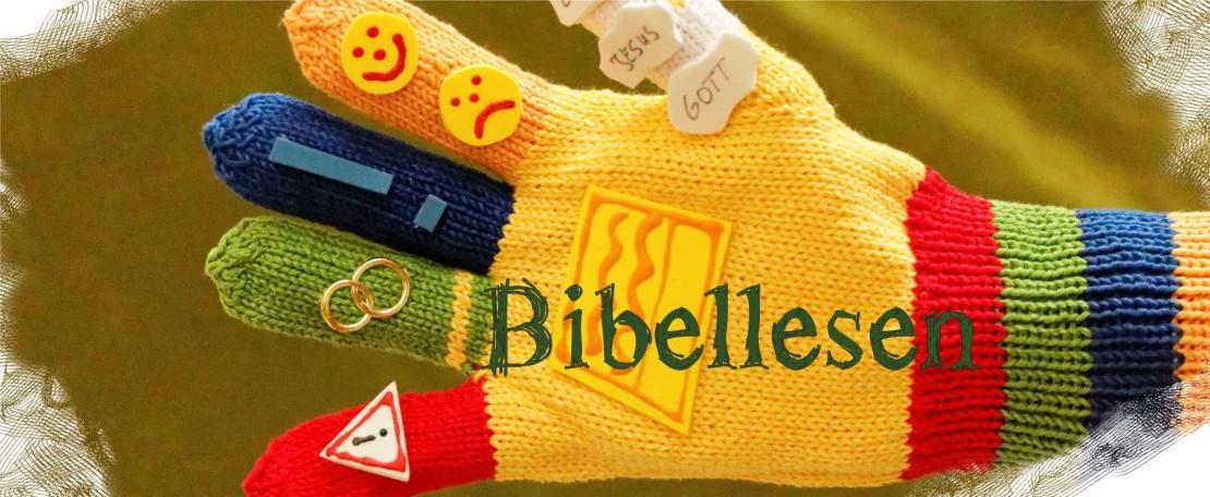 Bibellesen mit Kindern in der Kinderkirche