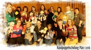 Handpuppenschulung Teilnehmer