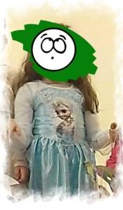 Elsa die Eiskönig Kostüm