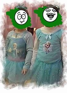 kleine Elsa Eisköniginnen