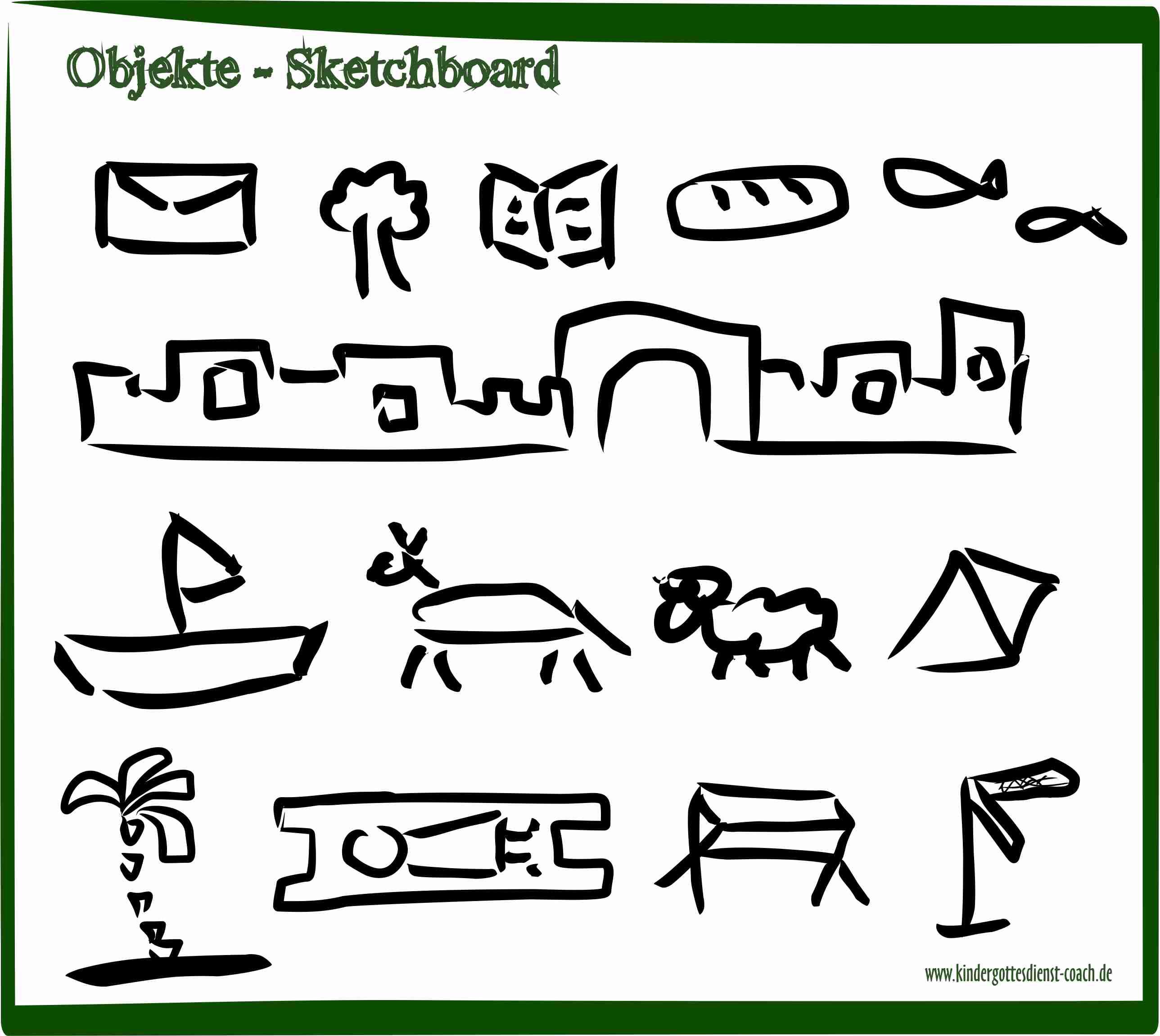 Sketchboard - biblische Geschichten erzählen durch malen