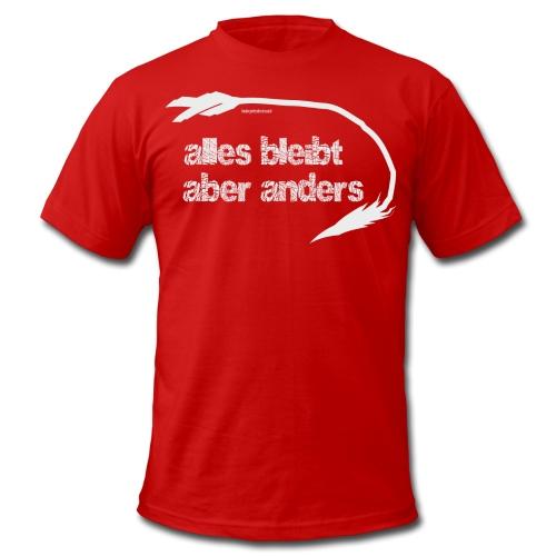 alles-bleibt-aber-anders-maenner-t-shirt-von-american-apparel