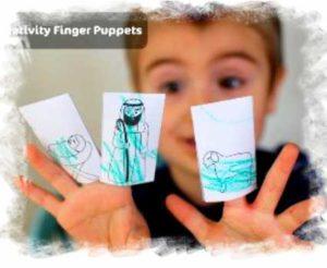Fingerpuppen Kindergarten
