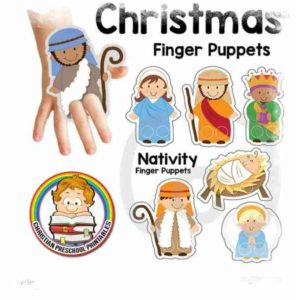 Fingerpuppen Weihnachten