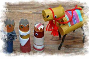 Kamele basteln an Weihnachten