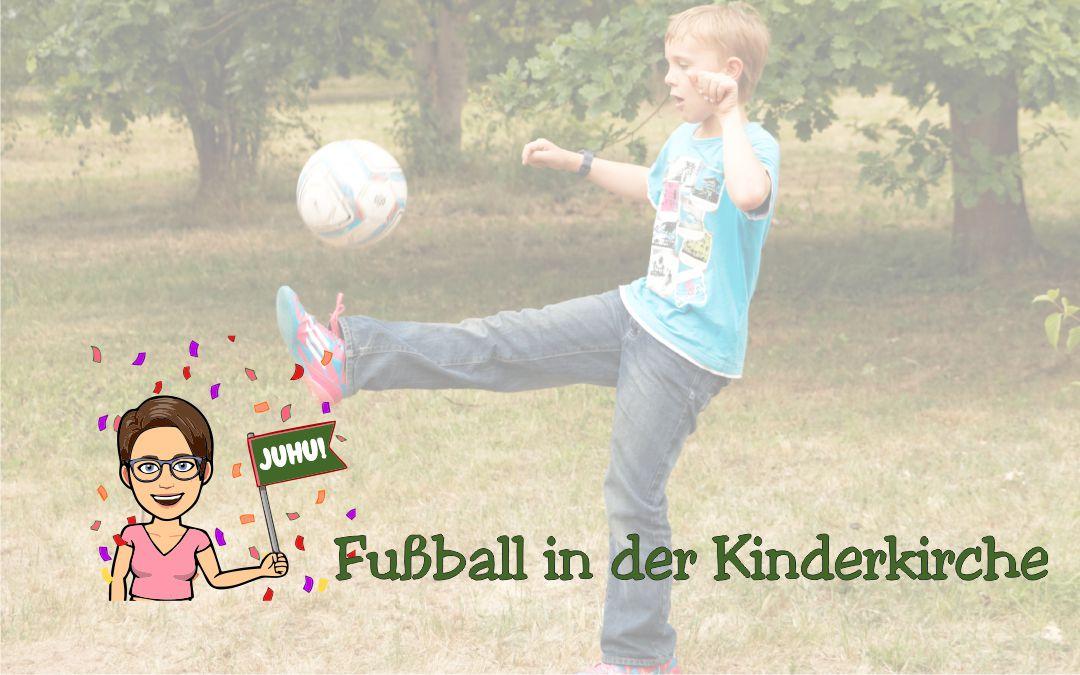 Fußball in der Kinderkirche