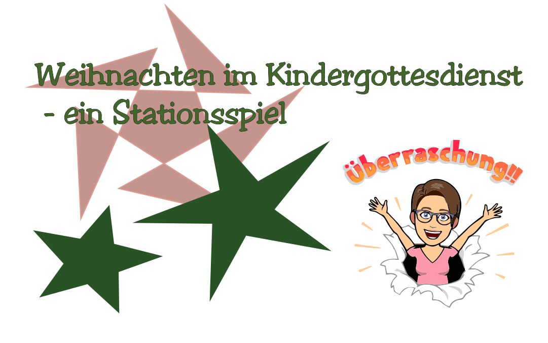 Weihnachten im Kindergottesdienst – ein Stationsspiel